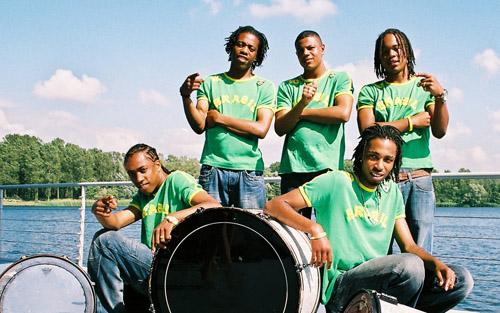 braziliaans band feest
